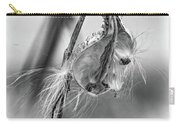 Autumn Milkweed 9 - Bw Carry-all Pouch