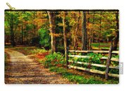 Autumn Moment - Allaire State Park Carry-all Pouch