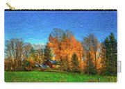 Autumn Moon Rising Carry-all Pouch