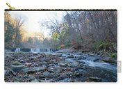 Autumn Morning Along The Wissahickon Creek Carry-all Pouch