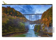Autumn Morning At Upper Falls Carry-all Pouch