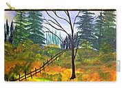 Autumn Morning In The Wild Carry-all Pouch
