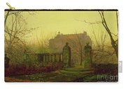 Autumn Morning Carry-all Pouch by John Atkinson Grimshaw