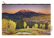 Autumn Mountain Landscape, Colorado, Usa Carry-all Pouch