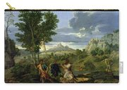 Autumn Carry-all Pouch by Nicolas Poussin