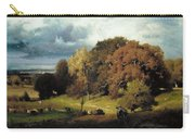 Autumn Oaks , George Inness Carry-all Pouch