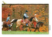 Autumn On Horseback Carry-all Pouch