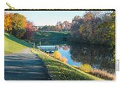 Autumn On Lake Inspiration Carry-all Pouch