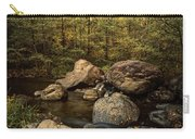 Autumn On The Creek  Carry-all Pouch
