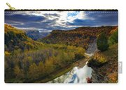 Autumn On The Genesee Carry-all Pouch