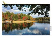 Autumn On The Lake  Carry-all Pouch