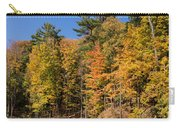 Autumn On The Riverbank - The Changing Forest Carry-all Pouch