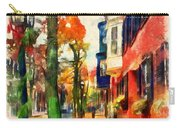 Autumn On The Streets Of Boston Carry-all Pouch