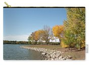 Autumn On The Water Carry-all Pouch