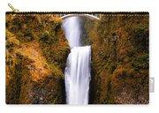 Autumn Orange Multnomah Falls Carry-all Pouch
