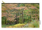 Autumn Paints A Dogwood And Ferns Carry-all Pouch