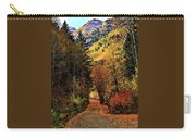 Autumn Path To Stewart Falls Carry-all Pouch