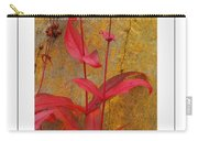 Autumn Penstemon Poster Carry-all Pouch