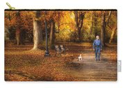 Autumn - People - A Walk In The Park Carry-all Pouch