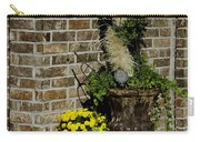Autumn Porch Scene Carry-all Pouch