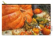 Autumn - Pumpkin - All Of My Relatives Carry-all Pouch