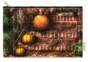 Autumn - Pumpkin - Three Pumpkins Carry-all Pouch