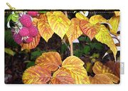 Autumn Raspberries Carry-all Pouch