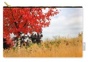 Autumn Red Maple Carry-all Pouch