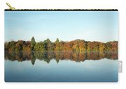 Autumn Reflections At Belmont Lake Carry-all Pouch