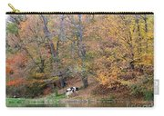 Autumn Reflections Cow Farm Carry-all Pouch
