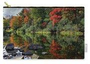 Autumn River Landscape Carry-all Pouch