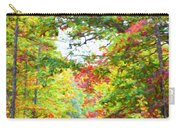 Autumn Road - Digital Paint Carry-all Pouch