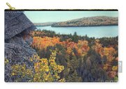 Autumn Rocks Booth's Rock Lookout Carry-all Pouch