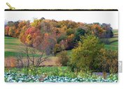 Autumn Rolling Hillside Farm Cabbage Harvest Carry-all Pouch