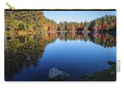 Autumn Serenity In Maine Usa Carry-all Pouch
