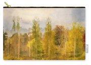 Autumn Shear Poplars Carry-all Pouch
