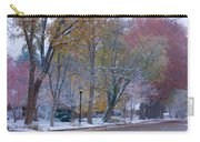 Autumn Snow Carry-all Pouch by James BO  Insogna