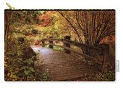 Autumn Splendor Bridge Carry-all Pouch
