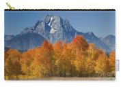 Autumn Splendor In Grand Teton Carry-all Pouch