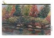 Autumn Stream Carry-all Pouch by Nadine Rippelmeyer