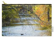 Autumn Stream Reflections Carry-all Pouch