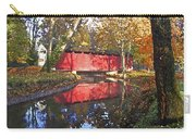Autumn Sunrise Bridge Carry-all Pouch