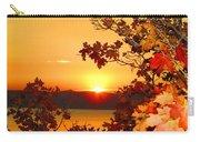 Autumn Sunrise Carry-all Pouch