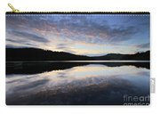 Autumn Sunset, Ladybower Reservoir Derwent Valley Derbyshire Carry-all Pouch