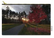 Autumn Sunset, Shawnigan Lake Carry-all Pouch