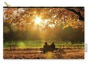 Autumn Sunshine In The Lichtentaler Allee. Baden-baden. Germany. Carry-all Pouch