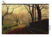 Autumn Sunshine Stapleton Parknear Pontefract  Carry-all Pouch
