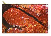 Autumn Tree Art Prints Orange Red Leaves Baslee Troutman Carry-all Pouch