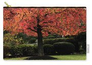 Autumn Tree At St Bernadette Carry-all Pouch