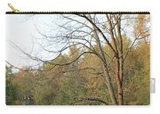 Autumn Tree At Sunset Light Carry-all Pouch